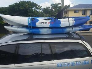 Double Fishing Kayak Hire - Fish paddle or swim in Moreton Bay Manly Brisbane South East Preview