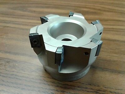 3 90 Degree Indexable Face Shell Millface Milling Cutter Apkt Z-2526-4025