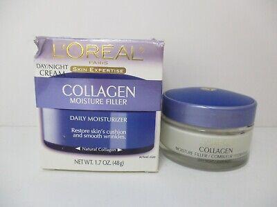 2 L'OREAL DAY/NIGHT COLLAGEN MOISTURE FILLER 1.7 oz EA EXP 12/20+ JL 6403 Collagen Moisture Filler