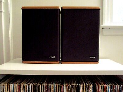 Audiophile Baby Advent II Vintage Bookshelf Speakers Tested Working made in USA