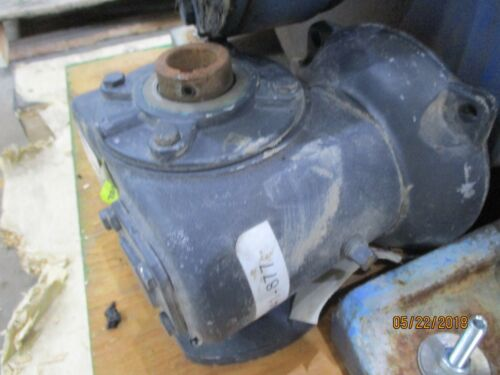 Morse gear reducer 18GSF x hollow bore output
