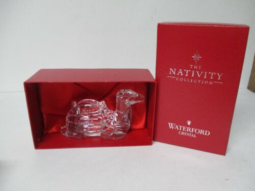Waterford Christmas Nativity Laying Camel in Original Box