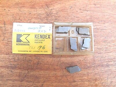 Kennametal NG44L K42 carbide inserts (5)