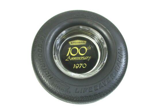 Vintage 1970 B.F. Goodrich 100th Anniversary Rubber Tire Ashtray