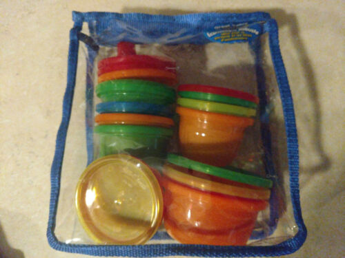 Baby Toddler Sippy Cups Snack Cups Package Covered Disposable Bowls