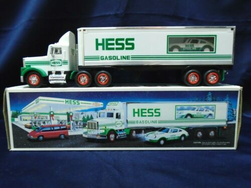 Hess Toy Truck 1992 18 Wheeler and Racer