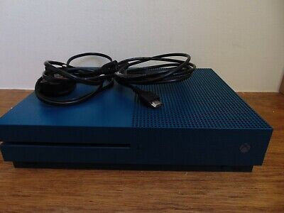 Microsoft Xbox One Slim S 1681, 500GB Limited Edition. Deep Blue. Console Only