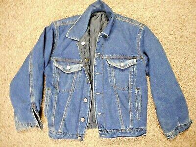 Men's Vintage Arizona Jeans Reversible Denim Jacket SZ MED - SUPER Arizona Denim Jacket
