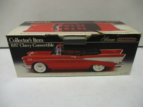 Jim Beam Decanter 1957 Chevy Convertible