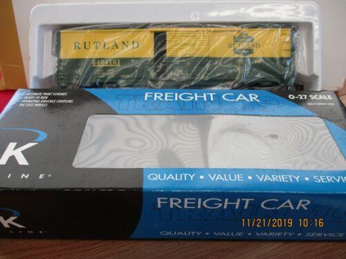 K-LINE O/O27 SCALE K640-4161 RUTLAND O GAUGE BOXCAR~NEW IN BOX