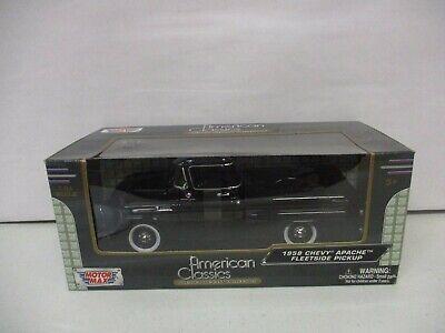 Motor Max American Classics 1958 Chevy Apache Fleetside Pickup 1/24