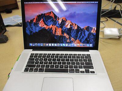"MacBook Pro 15.4"" Laptop - FD103LL/A (2012) 2.3 Ghz i7 8 GB Ram 10.12.1"