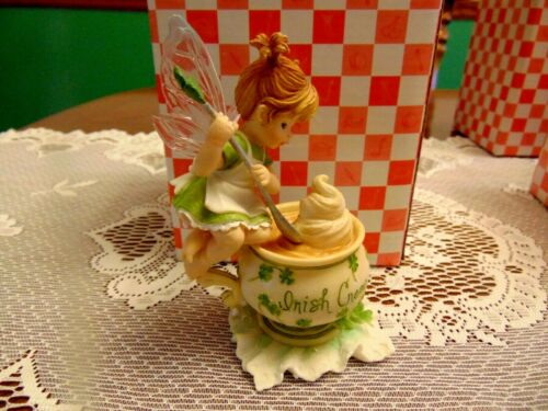 "2006 Enesco My Little Kitchen Fairies "" Irish Cream Fairie "" IOB"