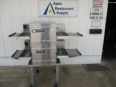 A Beauty Digital Middleby Marshall Conveyor Oven-natural Pizza. Ps520g 5188c