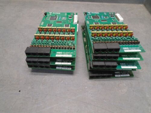 Lot of 9 NEC DX7NA-16ESIU-A1 cards