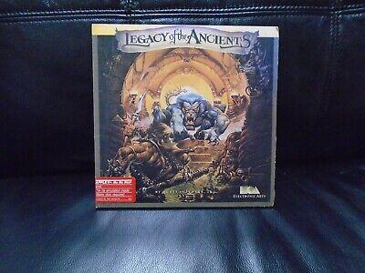 Computer Games - Legacy of The Ancients Atari Computer Video Game Rare!