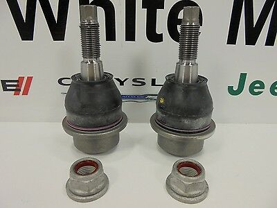 02-08 Dodge Ram 1500 New Front Lower Ball Joint 4WD Set of 2 Mopar Factory Oem