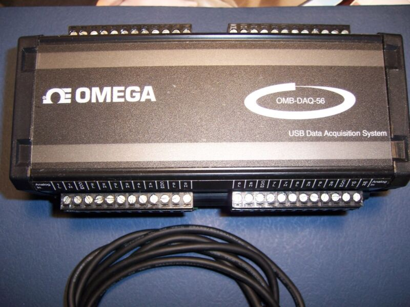 Omega Model OMB-DAQ-56 Data Acquisition for Thermocouple & Process Signals