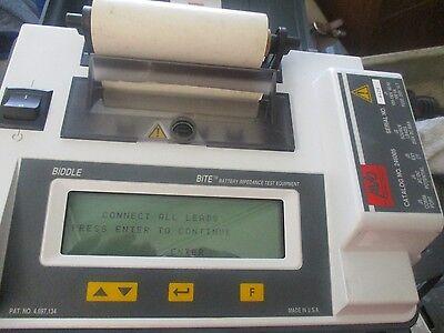Avo Biddle Division Model 246005 Battery Impedance Test Equipment. Bite.