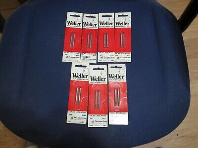14 New Weller Mt1 Replacement Soldering Iron Tip Lot 7 Packs Of 2 For Model Sp23
