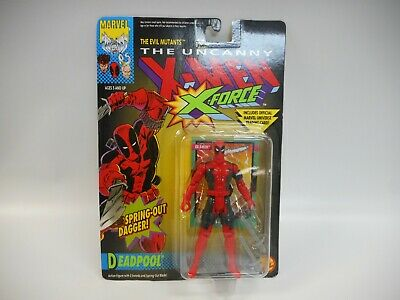 1992 The Uncanny X-Men X-Force Deadpool Action Figure Toybiz