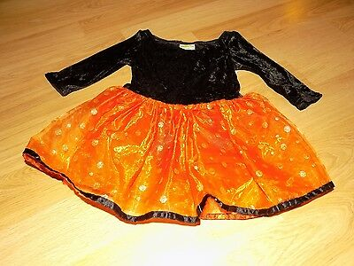 Size XS 4 Crazy 8 Black Orange Dance Tutu Leotard Halloween Costume Dress Witch - Black Leotard Halloween Costumes
