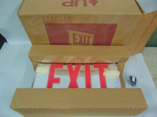 NEW LITHONIA LRP 2 RMR 120/277 EL N PNL LIGHTED EXIT SIGN 2 SIDED