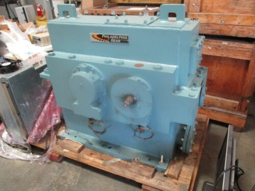 NEW PHILADELPHIA GEAR REDUCER TYPE 1507HSHR RATIO: 1/6.27. HP:  4000 HP CAPACITY