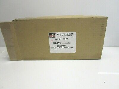 New Rite-hite 128458 Traffic Control Lights Red Green L.e.d. Cover Only 1224 V