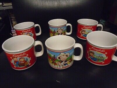 HOUSTON HARVEST CAMPBELL'S SOUP KIDS CERAMIC MUGS YOU CHOOSE - Kids Ceramic