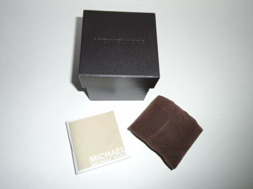 Michael Kors Watch Box With Pillow & Manual