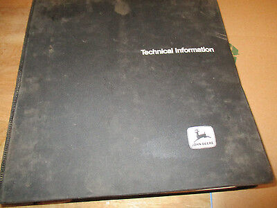 John Deere 755a Crawler Loader Technical Manual Tm 1231 With Binder.