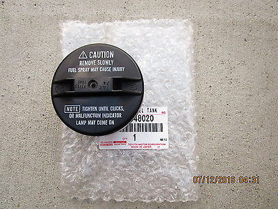 89 01 TOYOTA CAMRY BASE CE LE SE XLE DX FUEL GAS TANK CAP ASSEMBLY OEM NEW 48020