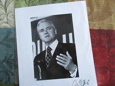 1970's Fritz Hollings (South Carolina Senator) signed photograph