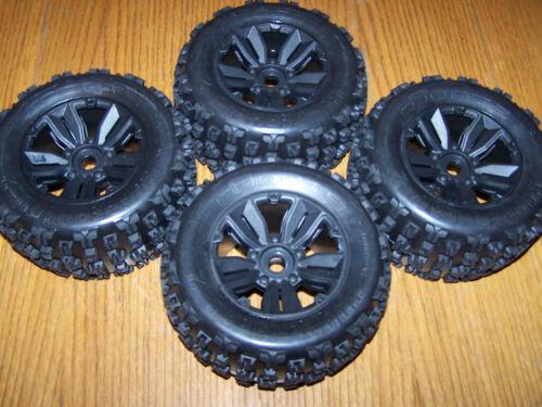 4 Arrma Kraton EXB 6s Dboots Copperhead 2 Tires 17mm Wheels /2.0 E-Revo 3.3 Maxx