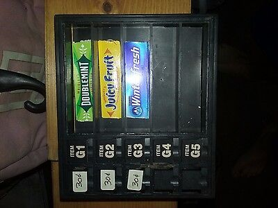 Gum Rack Display Window Coke Soda Snack Vending Food Machine