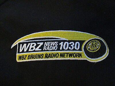 Promotional Boston Bruins Wbz News Radio 1030 Network  Lg  V Neck Jacket