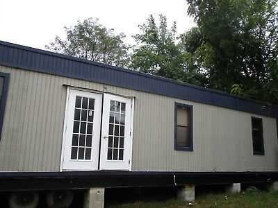 12x60 Modular Trailer Construction Sales Office Job-site Trailer