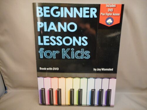 Piano Lessons for Kids Book with DVD + Digital Access By Watch&Learn