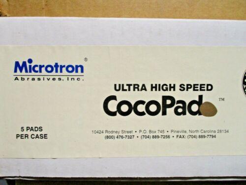 "Microtron Ultra High Speed Cocopad  20"" Floor Buffer Pad  Box of 5"