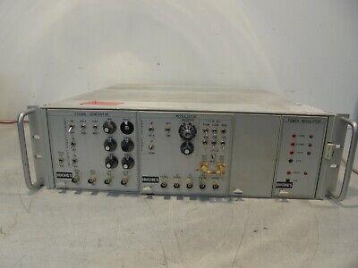 Tektronix Tm 506 Power Module W Hughes Power Regulator Signal Generator