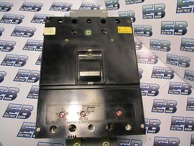 Square D Jkl3400f 300a 600v Circuit Breaker- Recon W Test Report