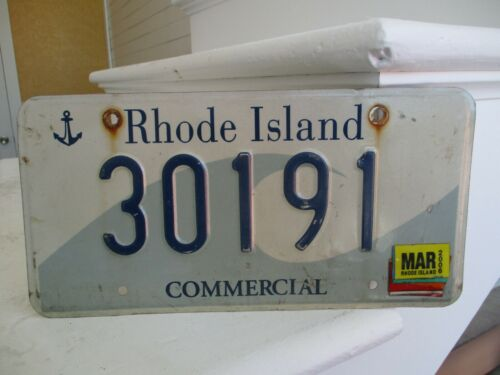 Rhode Island 2006 license plate #  30191