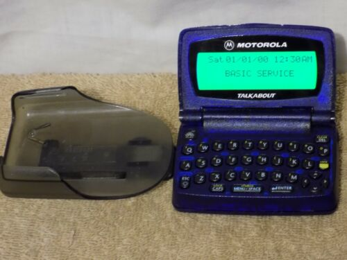 Vintage Motorola Talkabout Metrocall Pager with Holster