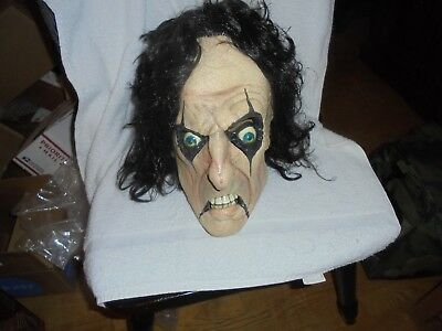 ALICE COOPER  Latex Angry - Alice Cooper Halloween Mask