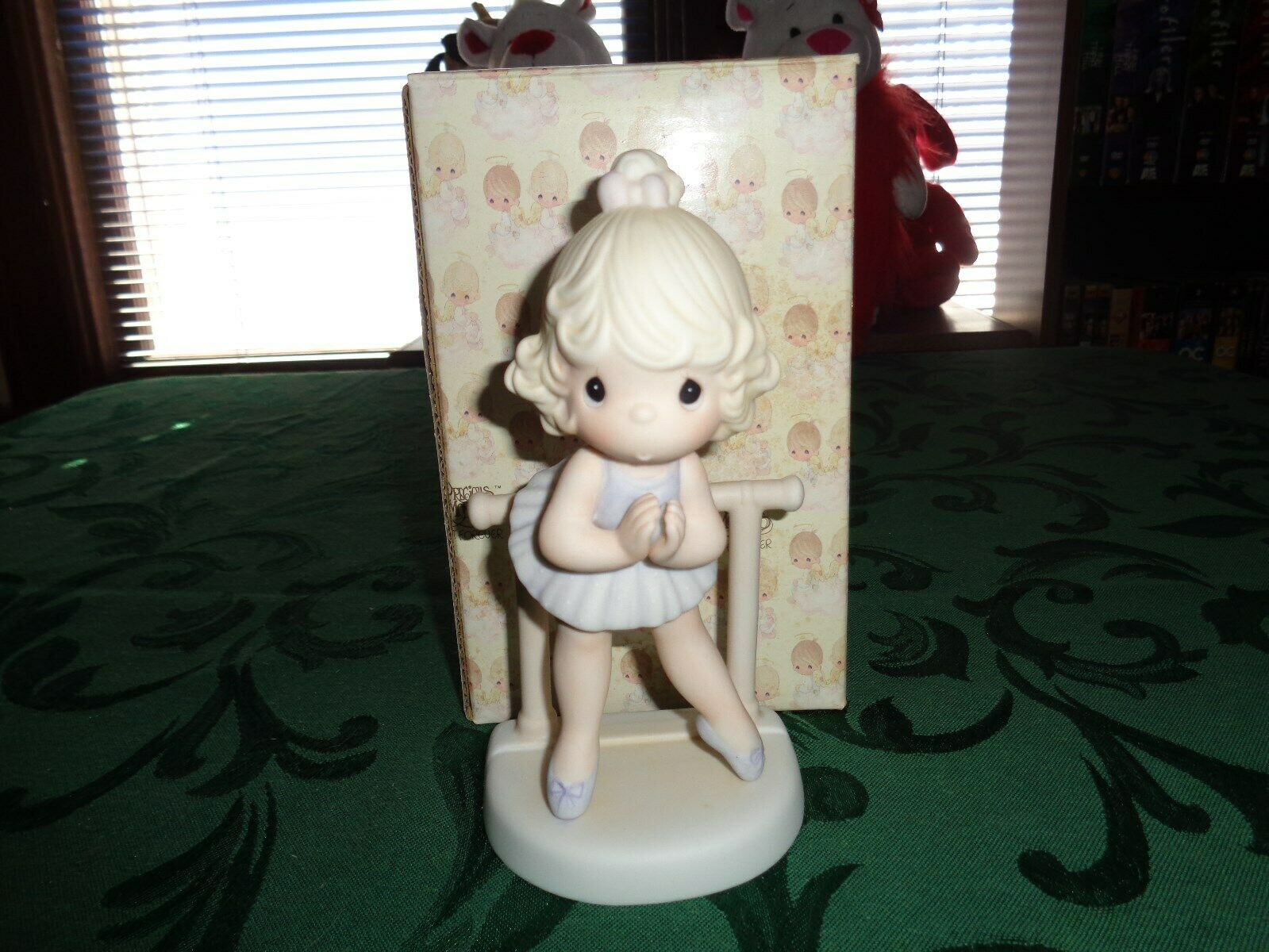 Enesco Precious Moments Lord Keep Me On My Toes 100129