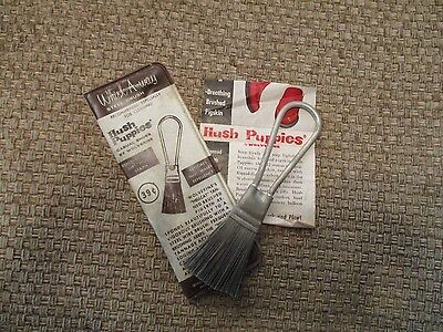 Vintage Whisk A Way steel brush for cleaning shoes Hush Puppies  Wolverine Corp