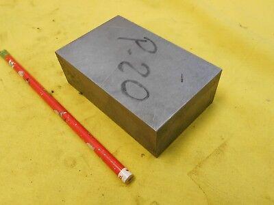 P20 Steel Bar Stock Mold Tool Die Shop Flat Bar 1 38 X 2 12 X 4 Oal