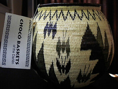 Choco' Woven Basket of the Darien - Embera Wounaan Panama