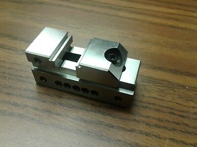 1 Wide Tool Makers Precision Screwless Vise Insert Vise 705-01- New